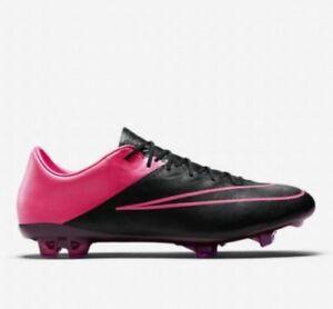 Nike Mercurial Vapor X FG - UK 11 EUR 46 Black Hyper Pink 747565 006 New