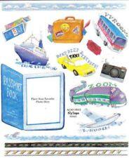 TRAVEL Scrapbook Stickers - Cruise, Passport, Plane