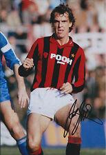 Joe JORDAN Signed 12x8 Photo AFTAL COA Autograph AC Milan Italy AUTHENTIC Rare