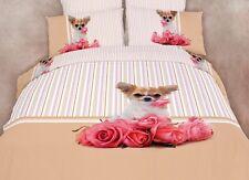 DM487Q 100% Egyptian Cotton Queen Duvet Cover Fun Bedding Set by Dolce Mela
