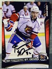 Montreal Canadiens Frederic St. Denis Signed 10/11 Hamilton Bulldogs SGA Card