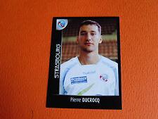 N°453 DUCROCQ RC STRASBOURG MEINAU RCS FOOT 2008 FOOTBALL 2007-2008