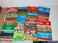 ENGLAND MIX MATCH PROGRAMMES 73-83 (7 ISSUES)