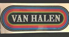 Vintage Van Halen Decal Bumper Sticker