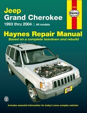 Jeep Grand Cherokee 1993 - 2004 Haynes Repair Manual (Paperback),. 9781563925542