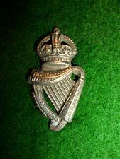 Irish - Genuine Royal Irish / Ulster Constabulary KC Collar Badge, 1902-53
