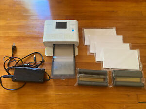 Canon Selphy Cp1200 Compact Wireless Phot Printer W/ Ink And Paper