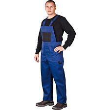 Arbeitslatzhose Blau Arbeitskleidung Latzhose Blaumann Arbeitshose Gr. 46 - 62