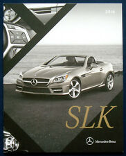 Prospekt brochure 2016 Mercedes SLK (USA)