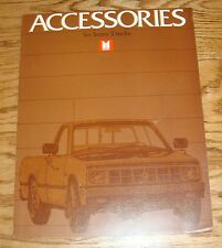 Original 1983 Isuzu Truck Accessories Sales Brochure 83