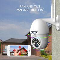 360° Outdoor Wasserdicht WiFi IP-Kamera 1080P HD IR Sicherheit Webcam Nachtsicht