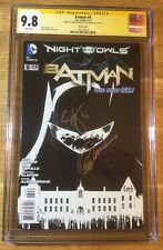 Batman 9, 1:200 B&W Sketch New 52, CGC 9.8 2X SS, signed Snyder & Capullo, NM/MT