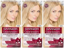 3 x Garnier Color Colour Intensity 10.1 Precious Ice Blonde - Permanent Dye