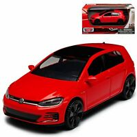 VW VOLKSWAGEN GOLF A7 GTI 1:43 Model Toy Car Diecast Cars Miniature Die-Cast Red