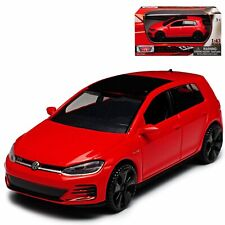 VW VOLKSWAGEN GOLF A7 GTI 1:43 Model Toy Car Diecast Cars Miniature Die-Cast Red