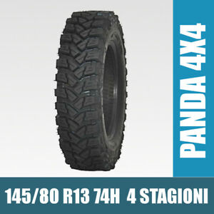 Gomme Pneumatici 145 80 R13 74H Fiat Panda 4x4 Off road ricostruiti 4 stagioni