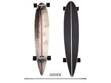 Ram Viesez Longboard Skateboard Drop Through Skate Board Holzboard Komplett