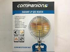 New Companion radiant LP gas camp & caravan LPG heater