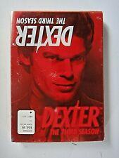 Dexter - The Complete Third Season (DVD, 2009, 4-Disc Set) Excellent