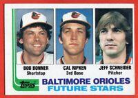 1982 Topps #21 Cal Ripken Jr. EX-EXMINT+ HOF ROOKIE RC Baltimore Orioles