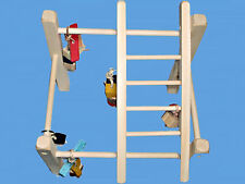 Bird Play Stand,Play Gym For Parakeets,Love Birds,Tiels