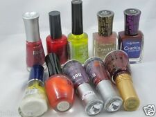 B186:Lot 10x Wet n Wild Revlon CoverGirl Sally Hansen Nail Polish