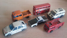 LOT MATCHBOX MAJORETTE CORGI FOR PARTS CITROEN MERCEDES FOURGON PLYMOUTH LONDON