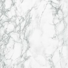 2m X 67.5 FABLON LIGHT GREY WHITE MARBLE STICKY BACK PLASTIC SELF ADHESIVE VINYL