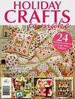 HOLIDAY CRAFTS TO MAKE NO 1. MAGAZINE 2010. PATTERN SHEETS ATTACHED.