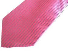 Paul Smith dark red and black striped silk tie: NEW, NO TAGS