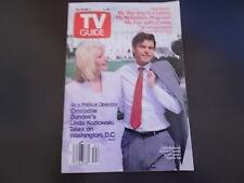 Linda Kozlowski, Ahmad Rashad - TV Guide Magazine 1988