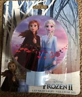 Disney Frozen II LED Night Light! Brand New! Rotary Shade