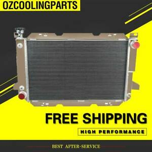 3 ROW Radiator For Ford F150 /F250 F Series Bronco 1985-96 88 ALUMINUM 5.0L-5.8L