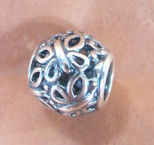 AUTHENTIC PANDORA BUTTERFLY GARDEN CHARM BEAD STERLING SILVER #790895 BRAND NEW