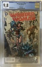 WONDER WOMAN # 49 CGC 9.8! KIM VARIANT. NEW 52! VERY LIMITED!