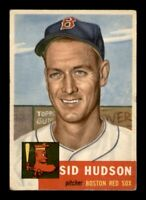 1953 Topps Set Break # 251 Sid Hudson VG *OBGcards*