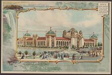 Pan American 1901 Manufacturing Building Exposition LARGE Unused Postcard
