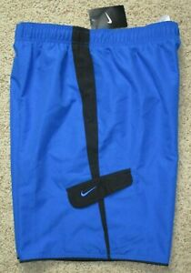 NEW Nike Men's Blue Lined Swim Trunks Board Shorts Size Medium