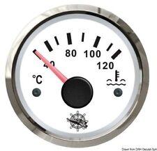 Indicatore temperatura acqua 40/120° bianco/lucida | Marca Osculati | 27.322.08