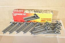 FLEISCHMANN 6116 PROFI GLEIS SET of 10 x BUFFER STOP TRACK 104mm LONG BOXED nn