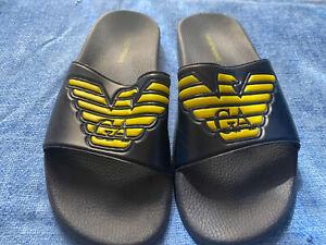 Emporio Armani men's shoes  flip flops, size EU 42, US 9-9.5