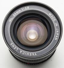 Yashica ML 24mm 24 mm Lens 2.8 1:2 .8 - Contax