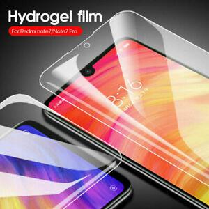 For Xiaomi Redmi K20 Pro Note 7 Mi 9 SE 8 9D Hydrogel Film Full Screen Protector
