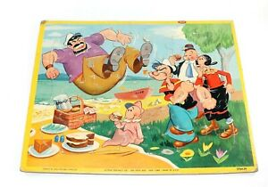 Popeye The Sailor Man Puzzle Jaymar King Features Syndicate 2764-29 Vintage