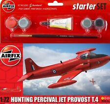 Airfix 1:72 Small Starter Set Hunting Percival Jet Provost T.4(A55116)