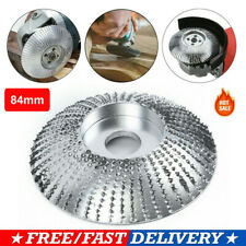 Angle Grinder Grinding Wheel Carbide Wood Sanding Carving Shaping Disc 84mm