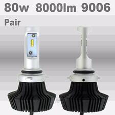 Philips 80W 8000LM 9006 HB4 Plug LED Headlight Kit Low Beam Bulbs Bulb 6000K US