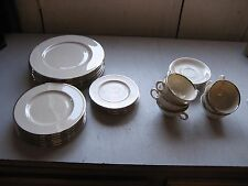 35 piece Lenox China Set - Montclair B501-SEE ALL PIECE SUMMARY BELOW w/warranty