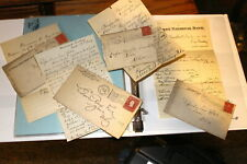 #A158,FOUR Letters to ZOAR O Hotel Circa 1900 w Covers