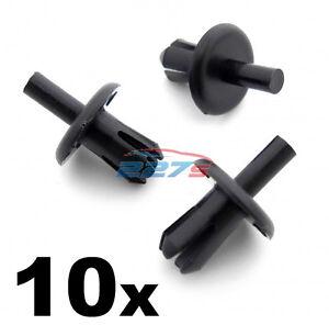 10x 8mm Vauxhall Wheel Arch Lining / Splashguard Clips- Corsa , Astra, Tigra etc